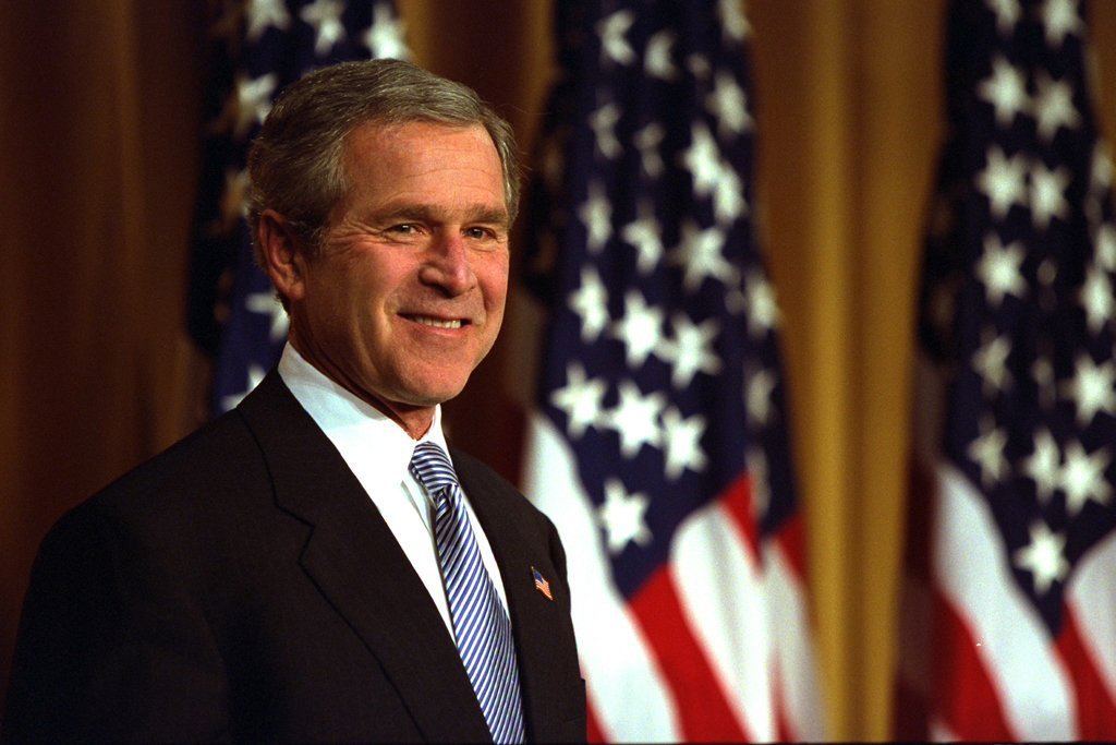 an introduction to the issue of george w bush Amazoncom: we will prevail: president george w bush on war, terrorism and   introduction by jay nordlinger a national review book (9780826415523):   and statements by president george w bush on the most important issue facing .