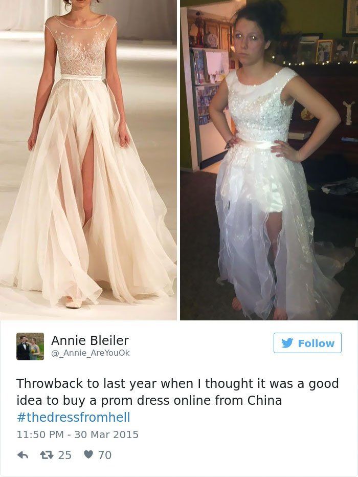 10+ Reasons Why You Should Never Buy Your Prom Dress Online