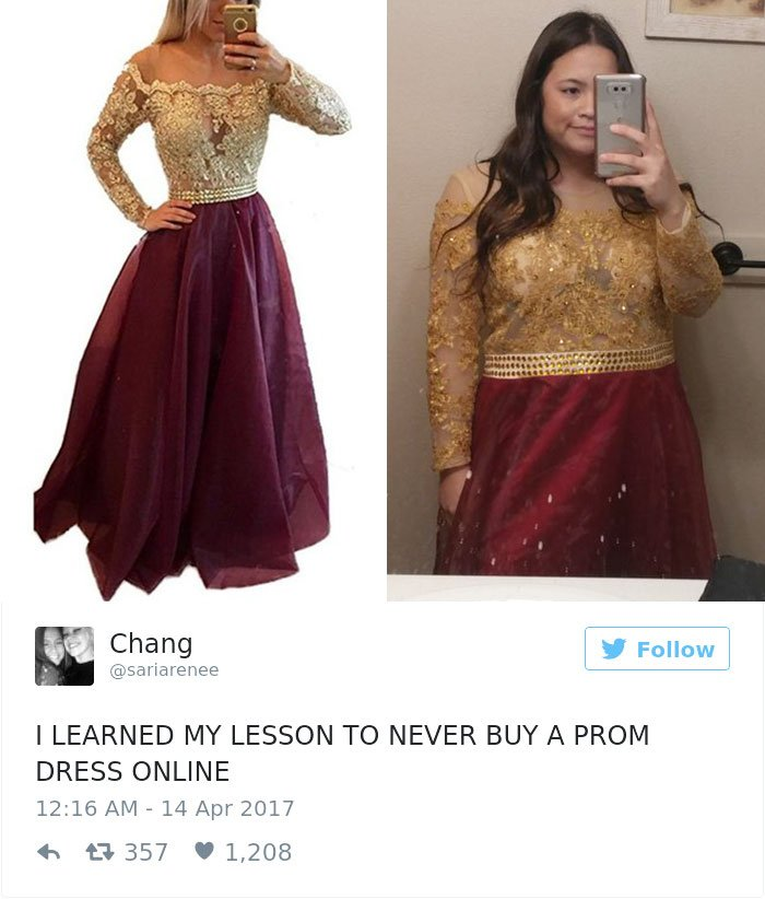 10 Reasons Why You Should Never Buy Your Prom Dress Online