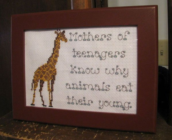 30 Hilarious Offensive Cross Stitches That Are Much Better