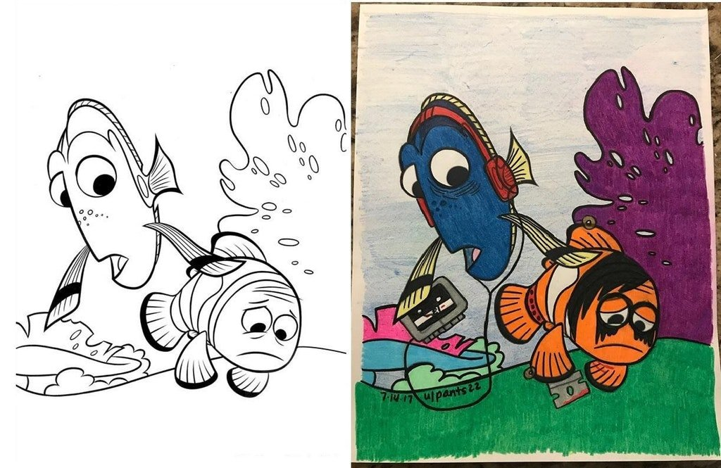 10 Horrifying Coloring Book Corruptions That Cant Be Shown To