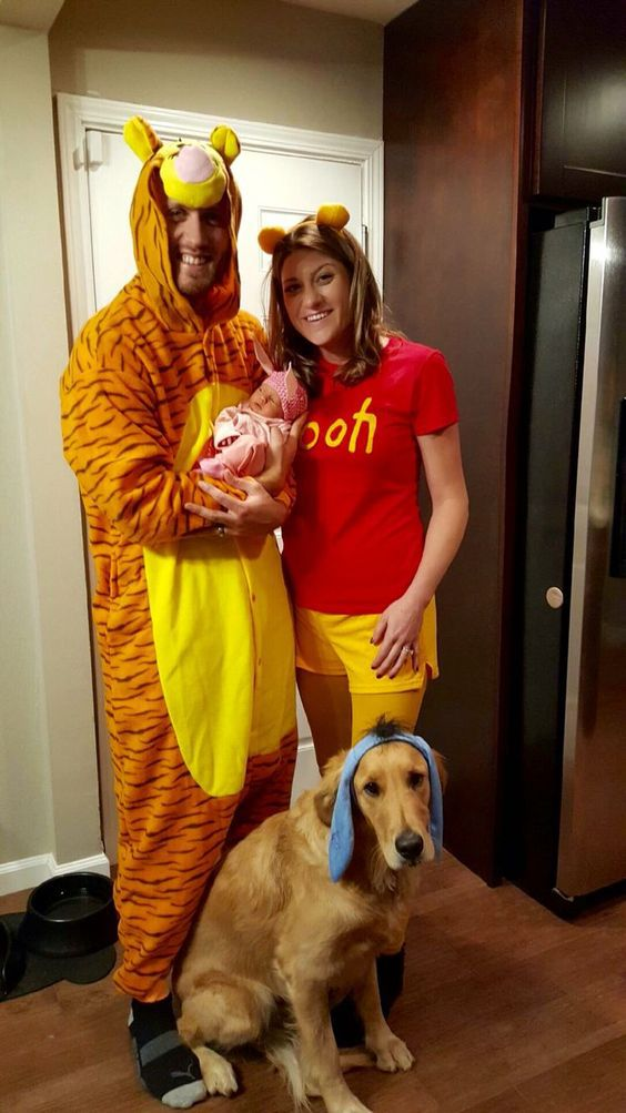 halloween couple costumes with dogs 19rearfront