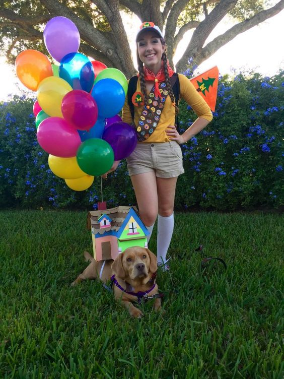 sc 1 st  RearFront & Halloween Couple Costumes With Dogs 23|RearFront