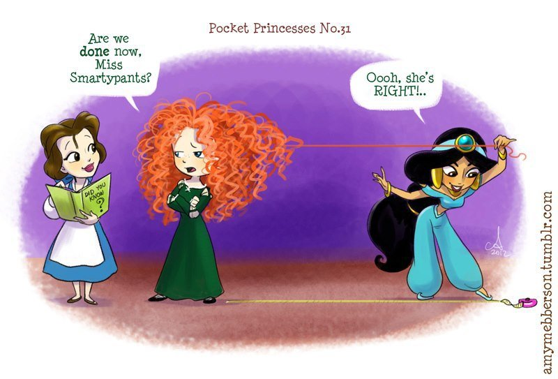 This Is What Happens When All Disney Princesses Start Living