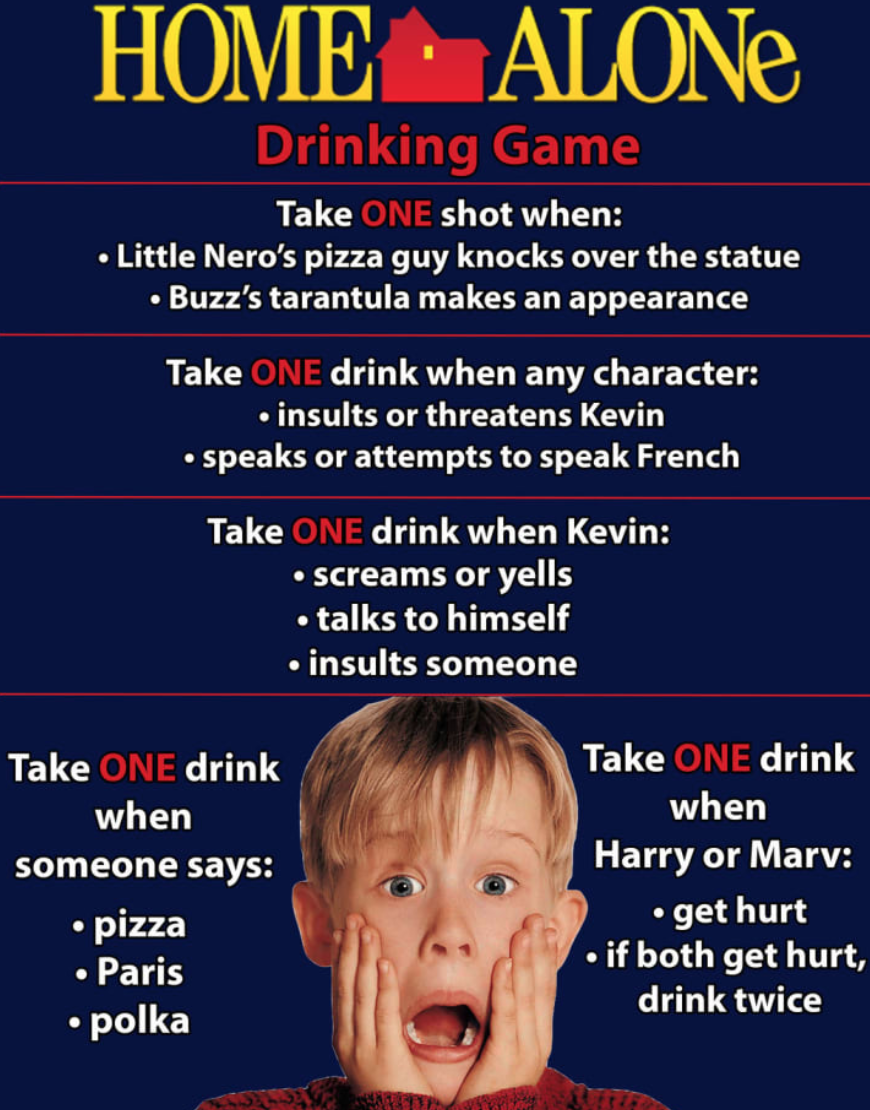 10+ Amazing Christmas Movie Drinking Game That Will Surely ...