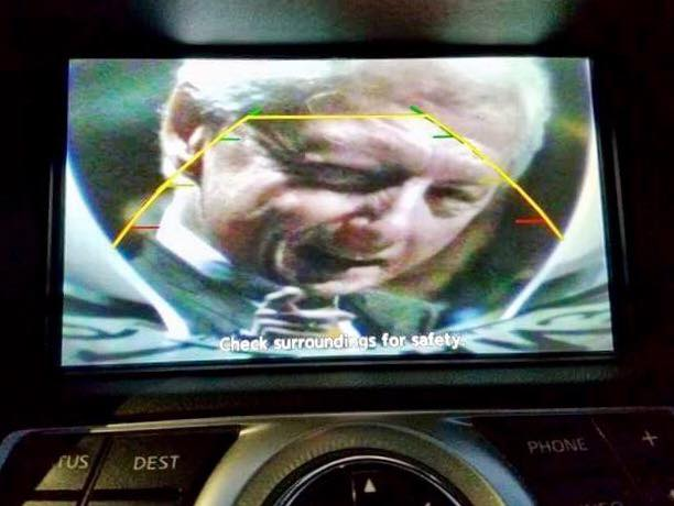 This Guy Pranked His Wife Using Car S Backup Camera But