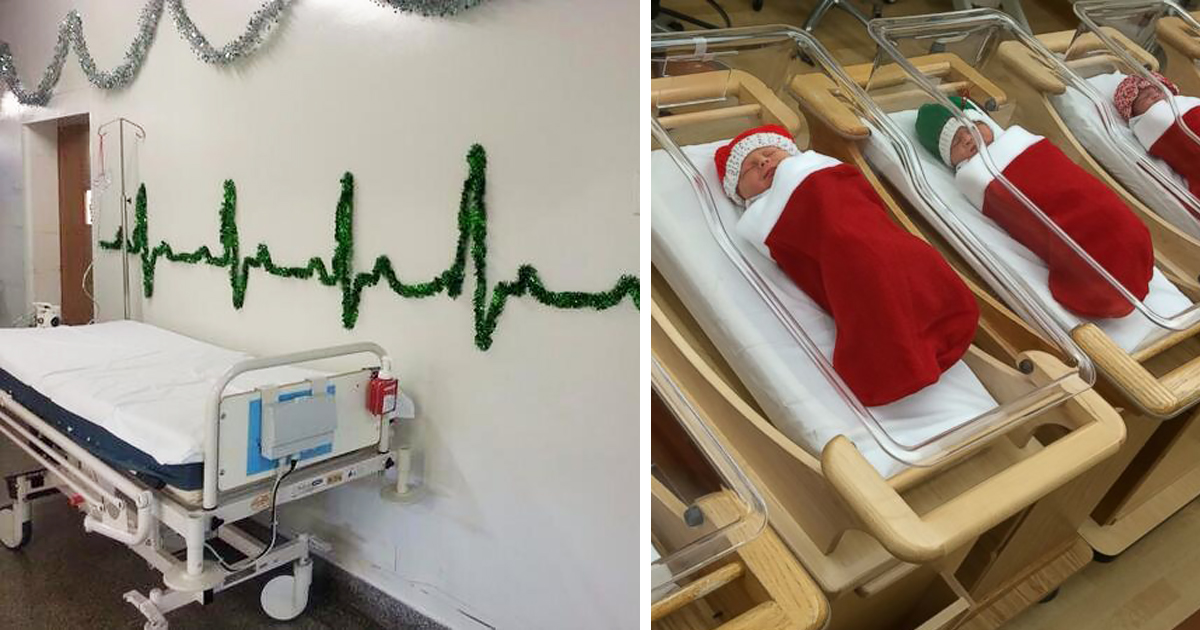 These Hospital Decorations Prove That Medical Staff Are