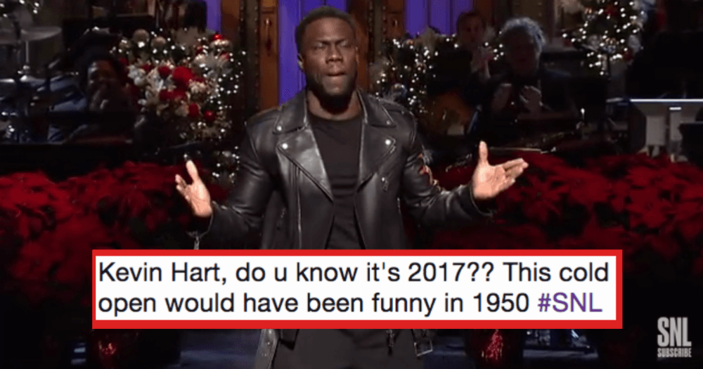 The Internet Is Claiming Kevin Hart S Opening Snl