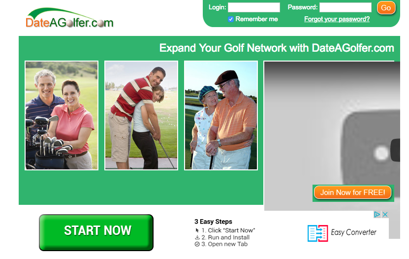 Dating site golf