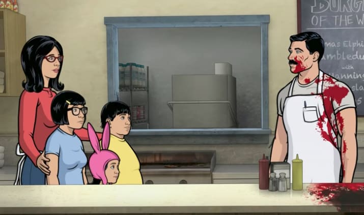 Bob s burgers see the opening to the fan drawn episode u dibujos