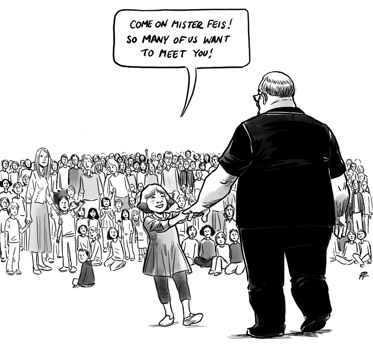 This Cartoon Depicting All The Victims Of School Shootings