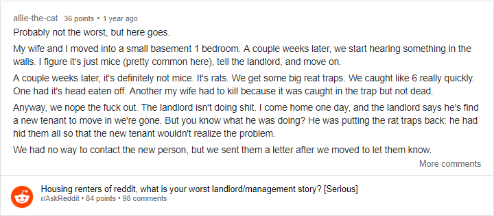 Tenants Share Their Dreadful Landlords Stories That Will Make You Cringe